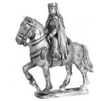 Medieval Lady on the horse XIII century