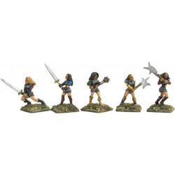 Amazons with two handed weapons