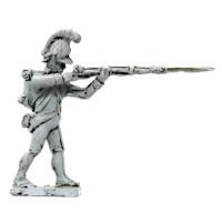 Infantryman firing, 1798-1809
