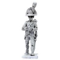 Artilleryman with cannonball