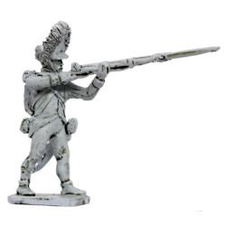 Hungarian Grenadier firing, 1798-1815