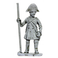 Artilleryman with lever, standing, 1809-1815