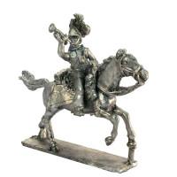 Trumpeter of Lancers charging
