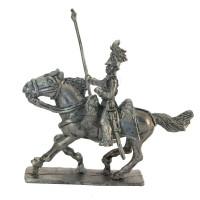 Standard-bearer of Lancers, charging