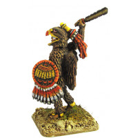Aztecan warrior of 'Eagles' rank