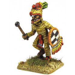 Aztecan warrior of 'Wolves' or 'Coyotes' rank