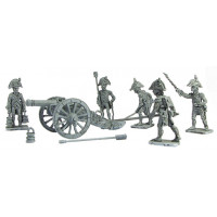 French Artillery and crew 1791 - 1804