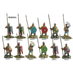 Normans or Saxons with spears