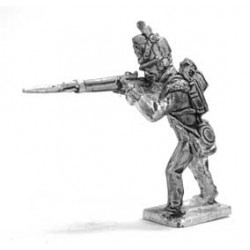 Private Flank coy. 1813-1815, firing