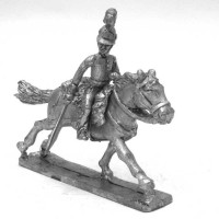 Officer of Dragoons charging 1806-1814