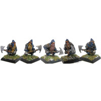 Dwarfes with double hand axe 1
