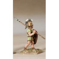 Infantryman, Class III, V-IV century BC, marching