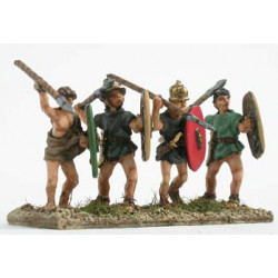 Light infantry with javelins