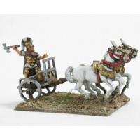 Light chariot with the King Porsenna of Clusium.