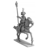Standard Bearer of Hussars with Shakó, charging