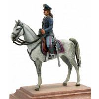 Policewoman (P.S) mounted on the horse