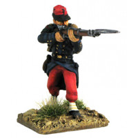 French line Fusilier 1854-1866, firing