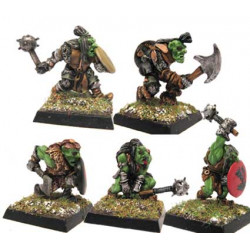 Goblin with Mixed Weapons