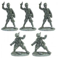 Line infantry command group