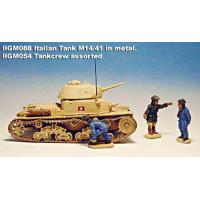 Italian Tank M14/41 in metal.