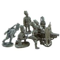 Artillery Askaris crew (six different miniatures)