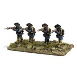 Bersaglieri standing, firing