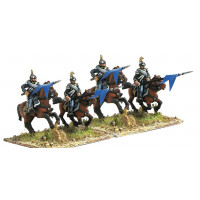 Line Cavalry in campaign dress, charging