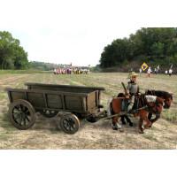 Medieval 4 weels Wagon