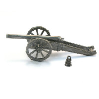 4 lb Falconetto Italian cannon. with Geonese barrel