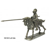 "Italian ""Cavallo leggero"" with lance charging 1520-1530"