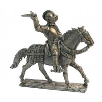 "Italian ""Cavallo leggero"" with sword charging  1520-1530"