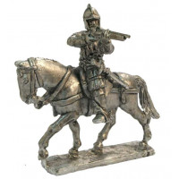 Italian mounted arquibusier 1520-1531 firing
