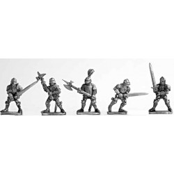 Dismounted Knights