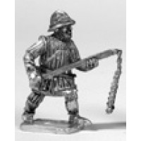 Infantryman, quilted body-armoured, kettle hat