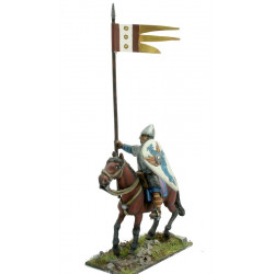 Norman knight with shield and spear (for standing or walking hor