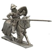 Italian knight 1289-1310, charging