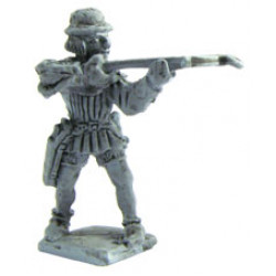 French crossbowman 1450, aiming