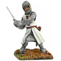 Knight with sword, figthing, 1250