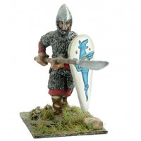 Norman or Saxon archer with helmet