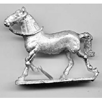 Etruscan horse, trotting
