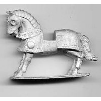Horse with full armor, second half of the 15th Century