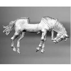 Horse for 19th century figures, died