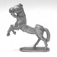 Rampant horse for 19th century figures.