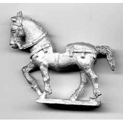 Horse with light harnes 1350-1500