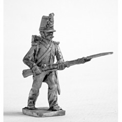 Fusilier with full dress, attack march