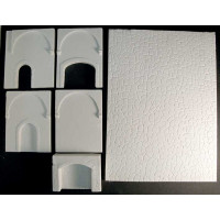 Resin walls for the Medieval Tavern KIT010