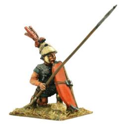 Roman Princeps or Triarius with spear