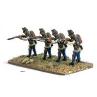 Hungarian Fusiliers, firing standing