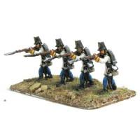 Hungarian Grenadiers firing standing