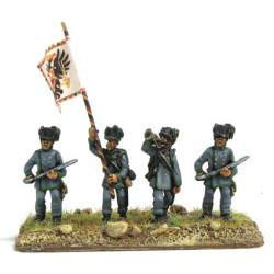Austrian Jaeger command group